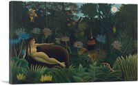 ARTCANVAS The Dream 1910 Canvas Art Print by Henri Rousseau