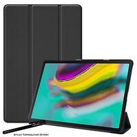 Coque Smart Noir Premium pour Samsung Galaxy Tab S5e T720 T725