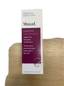 Murad Night Fix Enzyme Treatment - 30ml Brand New In Box