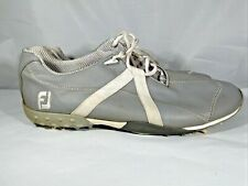 New listing FootJoy M Project Golf Shoes Men's 11 M Gray Grey White Soft Spike Lightweight