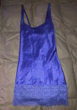 New listing Vintage 90s Victoria Secret Gold Label Slip Dress Silky Purple Lace