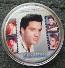 ELVIS PRESLEY THE KING OF ROCK N ROLL 24K GOLD PLATED MEMORABILIA COIN #6