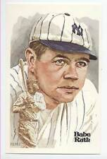 BEAUTIFUL UNSIGNED BABE RUTH  PEREZ STEELE POST CARD