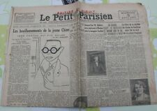 Le Petit Parisien 1931 ROYAT BARBIZON