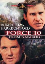 FORCE 10 FROM NAVARONE Movie POSTER 27x40 B Robert Shaw Harrison Ford Barbara