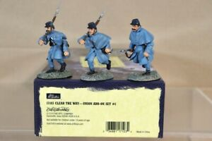 BRITAINS 17103 AMERICAN CIVIL WAR UNION CLEAR the WAY ADD ON SET nv