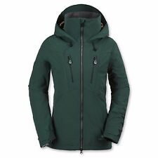 Volcom Women PVN Gore Stretch Snowboard Jacket (S) Midnight Green