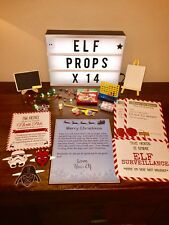 Elf Props x 14 Accessories Pack - On The Shelf Ready to Send Out - Christmas Fun