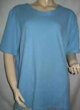 Vintage. Tee-shirt Bleu.  Taille 54.