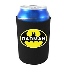 Dadman Neoprene Collapsible 12 oz Can Coolie, Father's Day Funny Gift