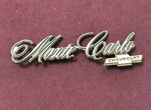 Vintage Chevy Monte Carlo Fender Emblem