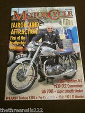 THE CLASSIC MOTORCYCLE - ZUNDAPP K200 - JULY 2000