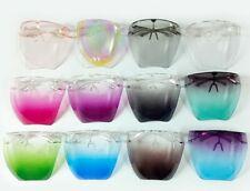 *Bubble Face Shield Transparent Reusable Visor Anti-Fog Full* Fast Shipping
