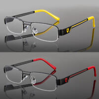 Khan Clear Lens Frames Glasses Small Rectangular Nerd Rx Men Women Fashion Silv