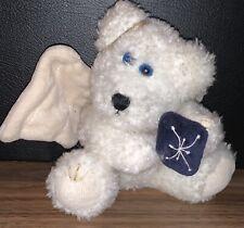 """Boyds Bears ~ Galaxy ~ Plush Bear ~ Angel ~ 7"""" Plush ~ Ornament"""