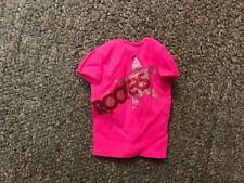 Vintage Original Barbie And The Rockers Pink Shirt Mattel 1985