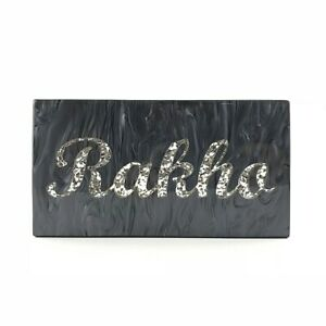 Personalised CUSTOM  Evening Wedding Party Clutch Bag Name Bridesmaid