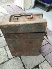 Werkzeugkiste ? Teile Kiste für Oldtimer Auto o. Motorrad ? Gepäck 2 WK ?
