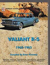 Valiant R-S 1962-1963, compiled by Ewan Kennedy