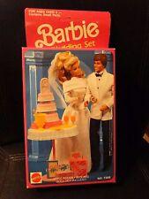 Barbie Wedding Set - Mattel/Arco Toys LTD #7398 wedding cake, table, flutes MIB