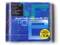 DEPECHE MODE  -  REMIXES  81. 04    -  CD 2004  NUOVO E SIGILLATO