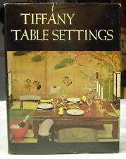 Tifany Table Settings Book 1960 Crowell Vintage HB