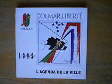 1995 Colmar Liberté Agenda de la ville de Colmar