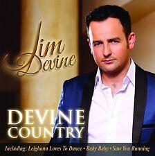 JIM DEVINE - DEVINE COUNTRY: CD ALBUM (2014)