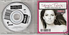 "Shania Twain - When you kiss me  GERMANY only 3"" CD Single  Pock it (2003)"