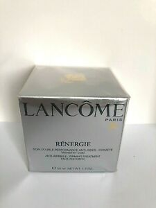 Lancome Renergie Anti-Wrinkle Firming Treatment Face/Neck 1.7oz/ 50ml-New Sealed