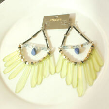 New Chicos Bib Acrylic Drop Statement Earrings Gift Fashion Women Party Jewelry
