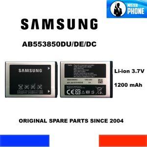 BATTERIE ORIGINALE SAMSUNG OEM AB553850DU AB553850DE AB553850DC 1200mAh 3,7V