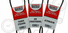 Toyota tacoma V6 Drive Belt Kit A/C-Power Steering-Alternator NEW BANDO SET OF 3