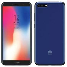 Huawei Y6 ATU-L11 2018 5.7'' 16GB 4G *~UNLOCKED~* 13MP Android Blue Smartphone