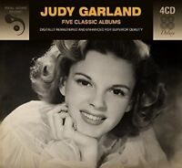 5 CLASSIC ALBUMS - JUDY GARLAND  4 CD NEW!