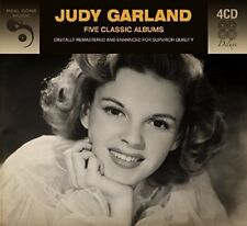 5 CLASSIC ALBUMS - JUDY GARLAND  4 CD NEUF