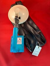 Vintage Compass VLF 120 Concealed Weapon Search Detector W/ Bag & Metal Tag Rare