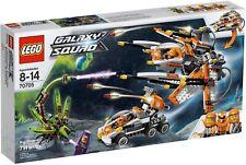 Lego 70705 Galaxy Squad BNIB Bug Obliterator aliens bug helicopters jet plane