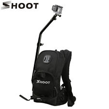 Sports Selfie Backpack 360° Rotating Pole Tripod Mount for GoPro Hero 5 4S 4 3+3