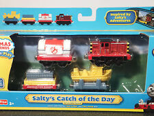 BRAND NEW Take Along/Take-n-Play Thomas 'SALTY'S CATCH OF THE DAY' - RARE