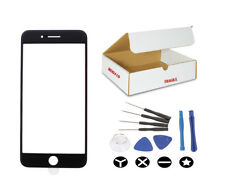 """Black Front Outer Glass Lens Screen replacement Tools Fit iphone 8 4.7"""" inches"""