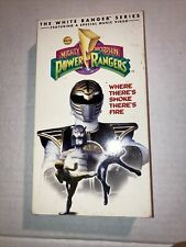 Mighty Morphin Power Rangers Where There's Smoke There's Fire VHS 1995
