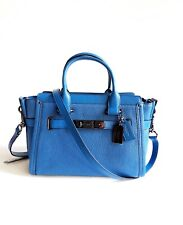 New coach's Women Handbag Shoulder Bags swagger Carryall 27 In Pebble Leather