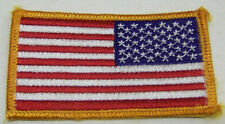 Army U.S.A. American Flag Embroidered Patch/Badge - Army Morale Badge Pre-owned