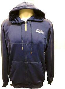 G-III Sports Seattle Seahawks Men's Cadence Full Zip Hoody Sweatshirt