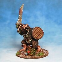 Ratman sword & Shield Skaven Warhammer Fantasy Armies 28mm Unpainted Wargames