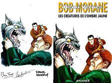 EO N° SÉBASTIEN WEITBRUCH BOB MORANE HC N° 42 : LES CRÉATURES DE L'OMBRE JAUNE