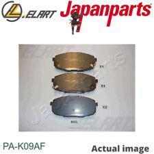 Brake Pad Set,disc brake for HYUNDAI,KIA i30 CW,FD,G4FA,G4FC JAPANPARTS PA-K09AF