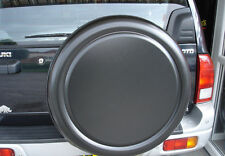 LAND ROVER DISCOVERY 4x4 Semi-Rigid HARD FRONT Spare Wheel Cover BLACK