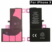 "Battery Replacement For Apple iPhone X 5.8"" Li-ion Battery 3.81V 2716mAh USA"